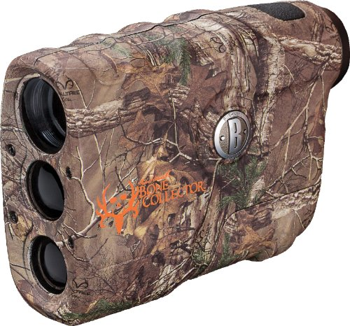 Bushnell Michael Waddell Bone Collector Edition 4x 21mm Laser Rangefinder, Realtree Xtra Camo